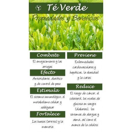 Beneficios del te verde con menta para adelgazar